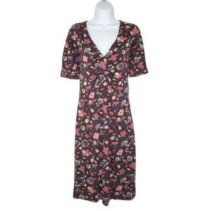Boden Stretch Lyocell Jersey Dress Floral 4
